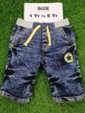 Denim Short For Kids