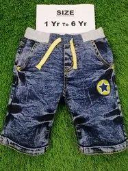 Denim Short For Kids