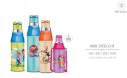 Pink Festival Milton bottel 50% Discount, For Drinking Water Hot N Cold, Model Name/Number: Kool Steelight