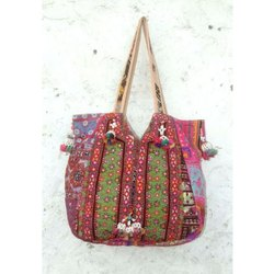 Vintage Women's Banjara Embroidery Shoulder Bag
