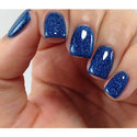 Blue Glitter Powder For Nail Polish, Pack Size: 1 Kg, For Personal