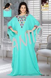 High Fashion Computer Embroidered Kaftan 330