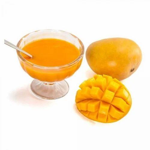 Fresh Alphonso Mango Pulp