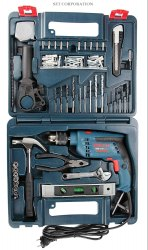 Bosch GSB 13 RE Reversible Professional Impact Plastic Drill, 600 watts, 13mm