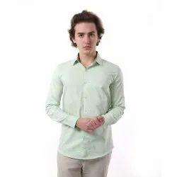 Vida Loca Green Color Cotton Printed Shirt