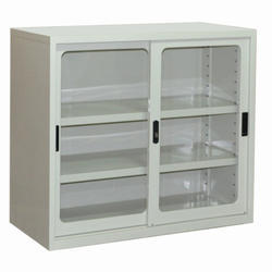 Small Mild Steel Storage Cabinet
