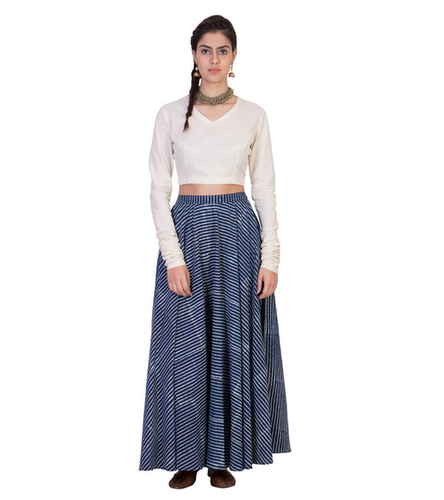 555183a5e66a Women Skirts - Women Black Mesh Skirt Manufacturer from Mumbai