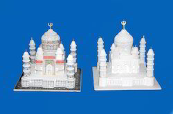 Indoor White Marble Tajmahal, Size: 3x3 Inches