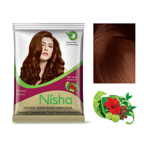Burgundy Nisha Natural Henna Based Hair Color For Personal Rs 9