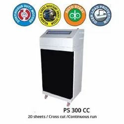 Industrial Paper Shredder Machine- PS300CC