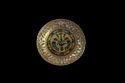 Round Meenakari Gold Basket