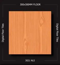 Digital Printing Matt Fea Wooden Ordinary Glazed Ceramics Floor Tiles, Thickness: 5-10 mm