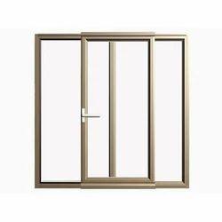 Aluminum Double Glass Door