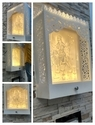 Solid Surface Acrylic Wall Temple