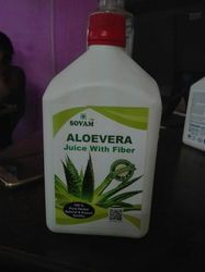 Organic Aloe Vera Fiber Juice