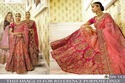 Indian Ethnic Designer Nylon Mono Net Bridal Wear Lehenga Choli
