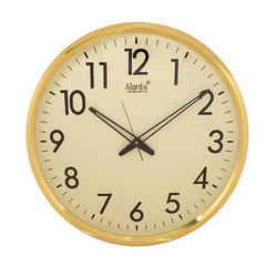 White Analog Ajanta Wall Clock, Model Number: 1477, Size: Aprx 16inch