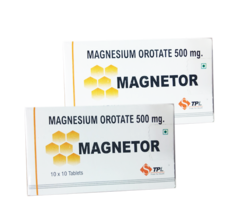 500 Mg Magnesium Orotate Tablets, Packaging Type: Box, Packaging Size: 10 X 10 Tablet