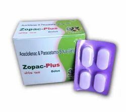 Aceclofenac & Paracetamol Bolus(Vet)