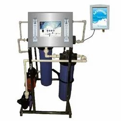 FRP 100 LPH RO Purifier with H2O Sterilizer, Automation Grade: Automatic, Model Name/Number: ROHS-100