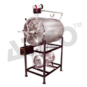 Stainless Steel Double Wall Horizontal Autoclave