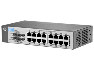 HP J9661A 8-Port Fast Ethernet Switch 10//100
