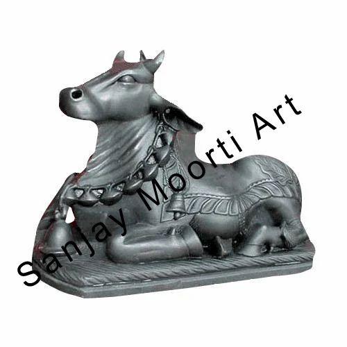 Marble Nandi Statues