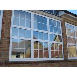 Rectangle Aluminium Glass Casement Window, Size/dimension: 4x5'