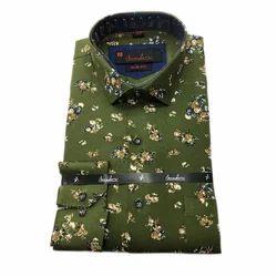 Amador Men Cotton Printed Shirt