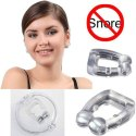 Silicone Magnetic Anti Snore Nose Clip