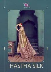 Hastha Silk Banarasi Art Silk Saree