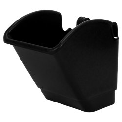 Black Squre Plastic Hanging Pot
