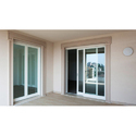 Transparent Aluminium Glass Door, Size/dimension: 32 X 72 Feet