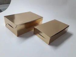 Golden Cardboard Packing Muffing Box