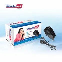 Black Electric Thunderwell SMPS Plug - External, 2.5 A DC