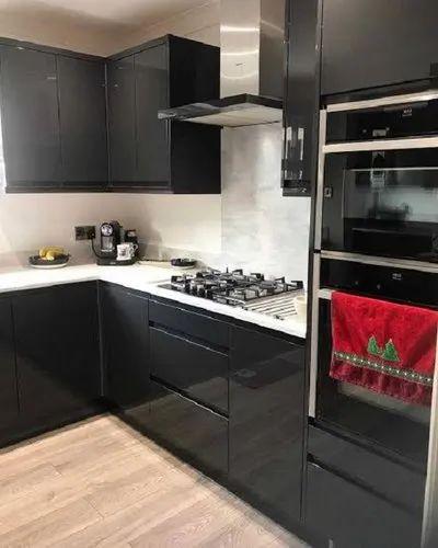 Pvc Black Modular Kitchen Drawer Size, 8 Inch Kitchen Cabinet