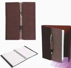 A5 Signature Notebook Maroon