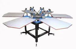 Ghoshtec Iron T Shirt Screen Printing Machine, Model: Sp66g-019, Capacity: N.a