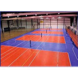 PVC Volley Ball Court Flooring Service