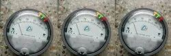 Aerosense Model ASG-12 Differential Pressure Gauge Range 0-12 Inch WC