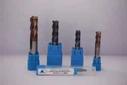 4 Flute Flat Endmill Cutter