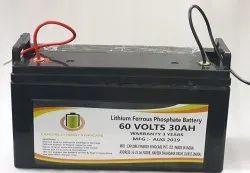 60 V 30Ah Lithium Ferrous Phosphate Battery, Model Name / Number: LFEV6030