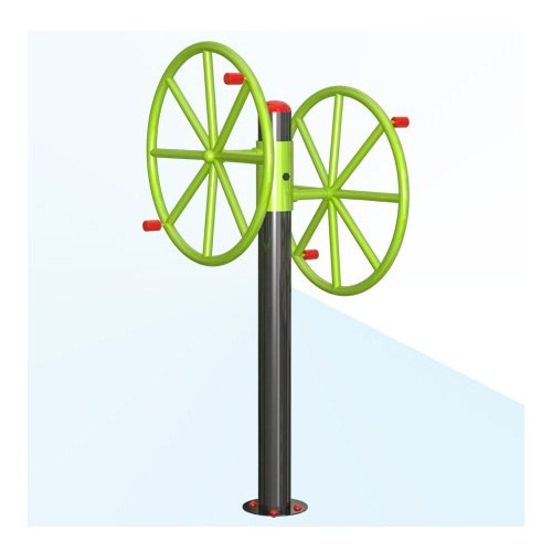 Ironex Shoulder Build Double Wheel Shoulder Builder, Model Name/Number: 101, For Gym