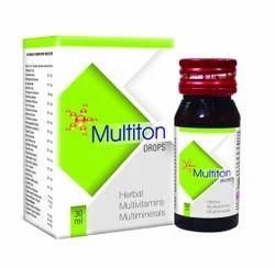 Multiton Ayurvedic Drops