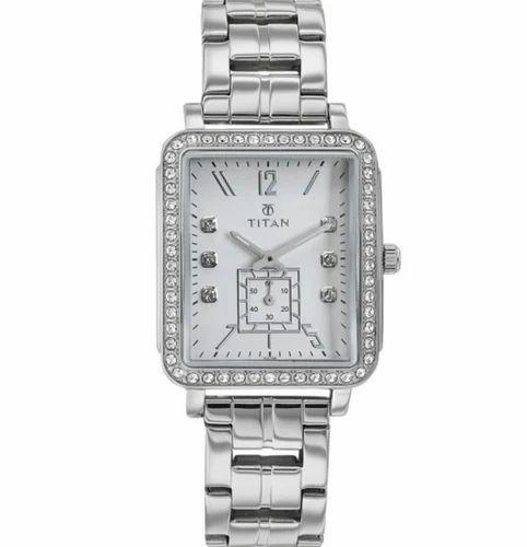 59bf3e469eb Silver Titan Womens Watch 95042SM01J