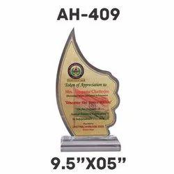 AH - 409 Acrylic Trophy