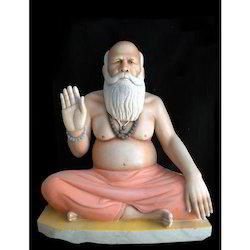 Marble Swami Ji Statue