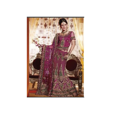 Hand Embroidery on Lehenga