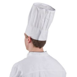White Cook''s Cap