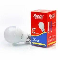 AJANTA PLASTIC 7w led bulb
